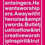 'Creative Worshipers'